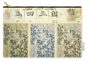 Spring Botanical Design Carry-all Pouch by Carol Leigh