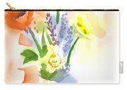 Spring Bouquet II Carry-all Pouch by Kip DeVore