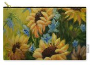 Sunflowers Galore Carry-all Pouch