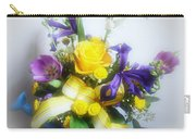 Spring Bouquet Carry-all Pouch by Sandy Keeton