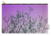 Spring Branches Lavender Carry-all Pouch