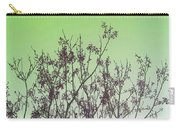 Spring Branches Mint Carry-all Pouch