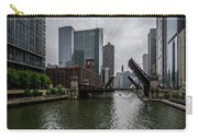 Spring Bridge Lift Scene In Chicago  Carry-all Pouch