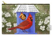 Spring Cardinals Carry-all Pouch