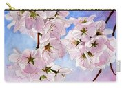 Spring- Cherry Blossom Carry-all Pouch