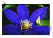 Spring Clematis Carry-all Pouch