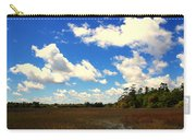 Spring Clouds Over The Marsh Carry-all Pouch
