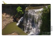 Spring Color At Burgess Lower Falls Carry-all Pouch