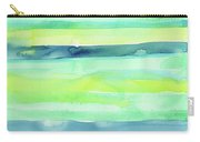 Spring Colors Pattern Horizontal Stripes Carry-all Pouch