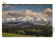 Spring Comes To The High Tatra Mountains In Poland Carry-all Pouch