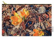 Spring Crocus Flower Carry-all Pouch