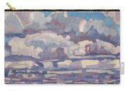 Spring Cumulus Carry-all Pouch