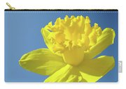 Spring Daffodil Flowers Art Prints Blue Sky Baslee Troutman Carry-all Pouch