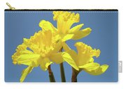Spring Daffodil Flowers Art Prints Canvas Framed Baslee Troutman Carry-all Pouch