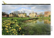 Spring Daffodils, Ramsey Village Pond, Cambridgeshire, England Carry-all Pouch