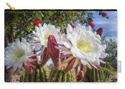 Spring Easter Cactus Blooms 789 Carry-all Pouch