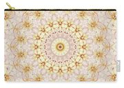 Spring Fantasy Floral Mandala Carry-all Pouch