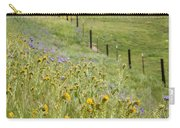 Spring Fenceline Fantasy Carry-all Pouch