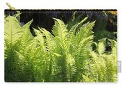 Spring Fern Fronds Carry-all Pouch