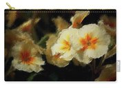 Spring Floral Carry-all Pouch by David Lane