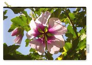 Spring Flower Peeking Out Carry-all Pouch