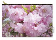 Spring Flowering Trees Art Prints Pink Flower Blossoms Baslee Carry-all Pouch