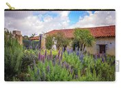 Spring Flowers In The Carmel Mission Garden Carry-all Pouch