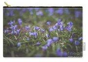 Spring Flowers - Scilla Carry-all Pouch by Viviana Nadowski