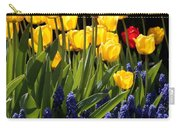 Spring Flowers Square Carry-all Pouch