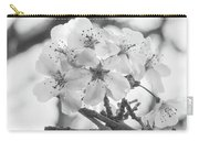 Spring Flowers - White Carry-all Pouch