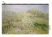 Spring. Fruit Trees In Bloom Carry-all Pouch