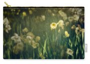 Spring Garden With Narcissus Flowers Carry-all Pouch