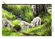 Spring Grasses Carry-all Pouch