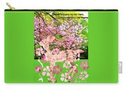 Spring Greeting With Poem Carry-all Pouch
