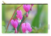 Spring Hearts - Flowers With Vignette 2 Carry-all Pouch