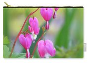 Spring Hearts - Flowers With Vignette Carry-all Pouch