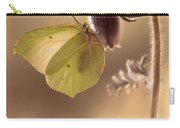 Spring Impression With Pasque Flower Carry-all Pouch