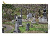 Spring In Oak Hill Cemetery #4 Carry-all Pouch