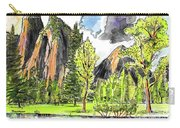 Spring In Yosemite Carry-all Pouch