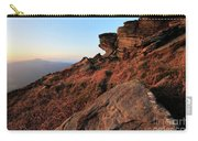 Spring Landscape, Gritstone Rock Formations, Stanage Edge Carry-all Pouch