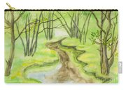 Spring Landscape, Watercolours Carry-all Pouch