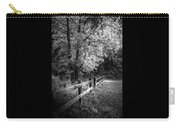 Spring Leaves B/w Carry-all Pouch