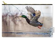 Spring Mallard  Carry-all Pouch