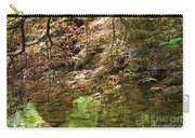 Spring Maple Leaves Over Japanese Garden Pond Carry-all Pouch