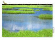 Spring Marsh Grasses Carry-all Pouch