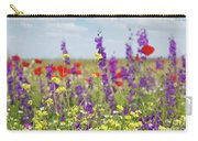 Spring Meadow With Flowers Nature Scene Carry-all Pouch