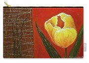 Spring Messenger Carry-all Pouch by Phyllis Howard