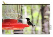 Spring Migration Hummingbird Carry-all Pouch