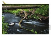 Spring Morning At Crum Elbow Creek I Carry-all Pouch
