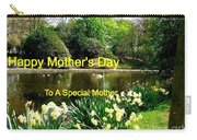 Spring Mother's Day Greeting Carry-all Pouch